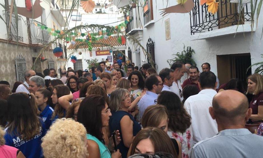 Fiesta del Ajoblanco 2016 en Almáchar