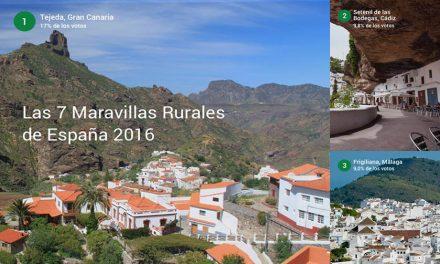 Frigiliana, tercer pueblo de las 7 maravillas rurales de España 2016