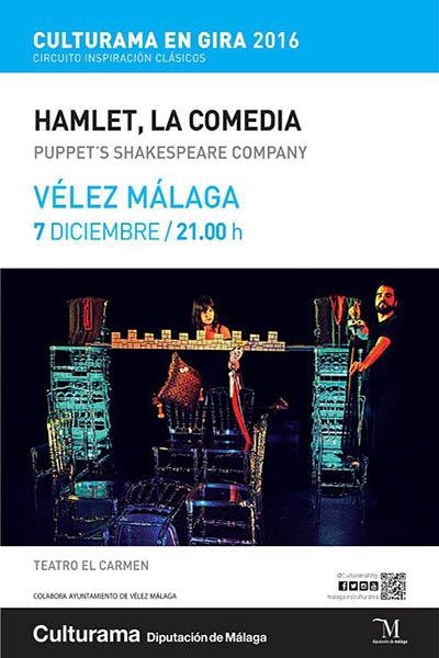 Hamlet, la comedia en Vélez- Málaga