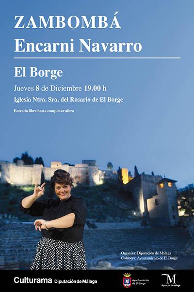Zambombá Encarni Navarro en El Borge