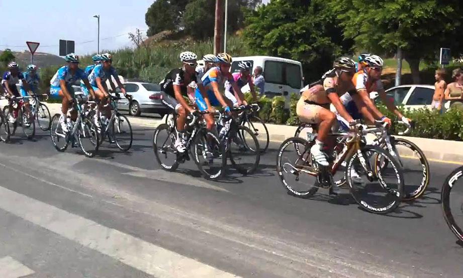 Ciclismo, Vuelta a Andalucia pasando por Rincón de la Victoria y Torre del mar
